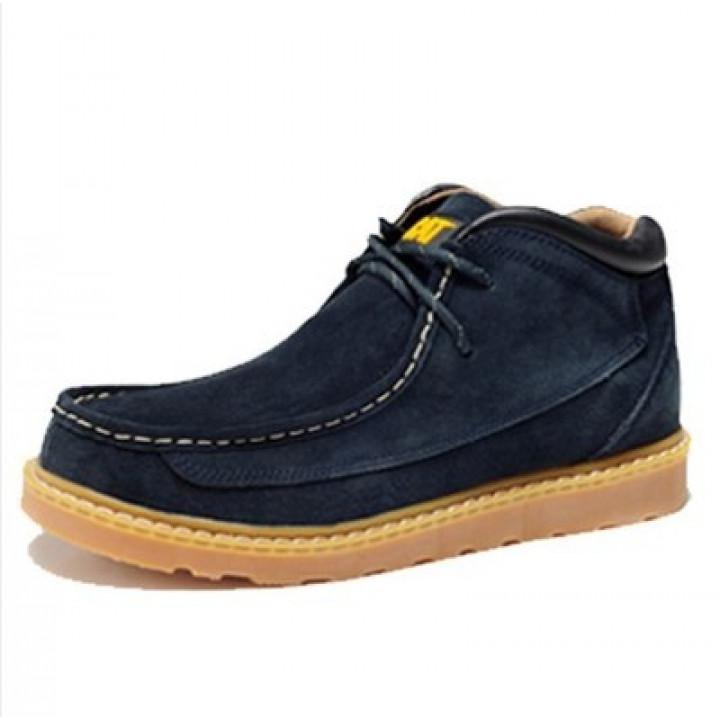 Демисезонные ботинки CAT без меха blu